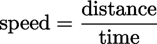 2 1 Distance Speed Scalar Quantities Ap Physics 1 Online
