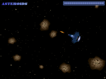 Shooting lasers as asteroids